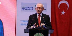 Kemal Kılıçdaroğlu Sarıyer'de konuştu