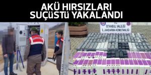 Sarıyer'de akü hırsızı kardeşler suçüstü yakalandı