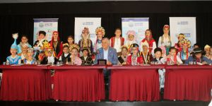 Sarıyer'de bir araya gelen Çocuk Meclisi'nden dünyaya mesaj
