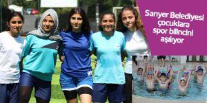 Sarıyer Belediyesi çocuklara spor bilincini aşılıyor