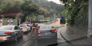 Sarıyer tüneli trafiğe kapatıldı!