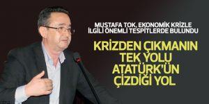 Mustafa Tok, ekonomik krizle ilgili önemli tespitlerde bulundu