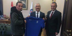 Sarıyer'den Mehmet Ersoy'a ziyaret