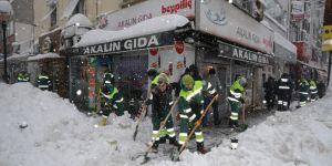 Sarıyer karla mücadeleye hazır