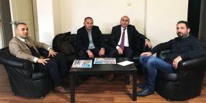 Eğitim Bir-Sen'den gazetemize 10 Ocak ziyareti