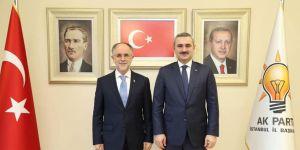 AK Parti İlçe Başkanlığı'na Hüseyin Cevahiroğlu atandı