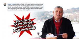 Şükrü Genç, AK Partililerden gelen sorulara cevap verdi