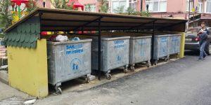 20 günde 57 adet çöp konteyneri çalındı