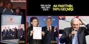 AK Parti'nin tapu geçmişi!