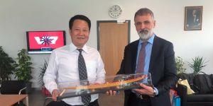 Sarıyer ile Çin arasında önemli iş birliği