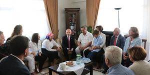 Kılıçdaroğlu'ndan Halit Ayar'ın ailesine taziye ziyareti