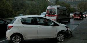 Sarıyer'de zincirleme trafik kazası!