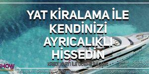 istanbul da yat kiralama fiyatları