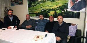 İstinye Balabandere'den Şükrü Genç'e teşekkür