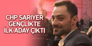 CHP Sarıyer gençlikte ilk aday çıktı