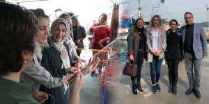 Dilek İmamoğlu Sarıyer'de balıkçı kadınlarla buluştu