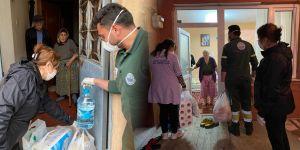 İhtiyaç sahiplerinin yardımına Sarıyer Belediyesi koştu