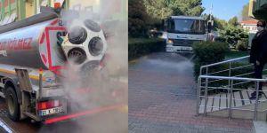 Sarıyer Belediyesi'nin yeni dezenfekte sistemine Sarıyerlilerden tam not