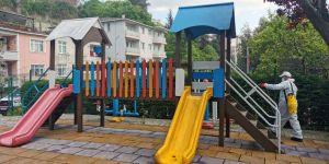 Sarıyer'in parkları hafta sonuna hazır