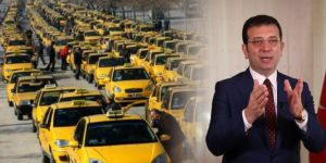 İBB'nin 6 bin yeni taksi projesi yine engellendi!