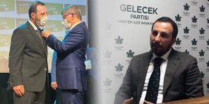 Ali Rıza Abdik Gelecek Partisi'ne geçti