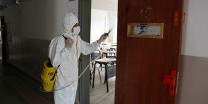 Sarıyer'de 12 günde 26 okul temizlendi
