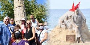 Doğa ve sanatseverler Kilyos'ta buluştu