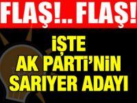 AK Parti Sarıyer Belediye Başkan Adayı Sedat Özsoy