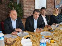 Salih Bayraktar, gazetecilerle kahvaltıda buluştu
