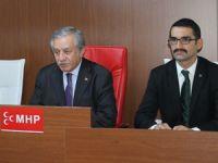 Celal Adan MHP İlçe Başkanlığı'nı ziyaret etti