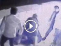 Sarıyerde hırsızlara meydan dayağı VİDEO