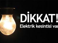 Sarıyer'de 10 saatlik elektrik kesintisi