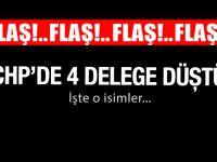 FLAŞ! CHP'de 4 il delegesi düştü!