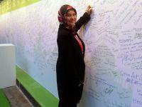 Paris'te hatıra panosuna Sarıyer'in adını yazdı