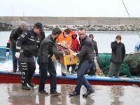 Sarıyer'de balıkçıların ağına ceset takıldı