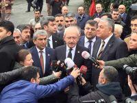 Kılıçdaroğlu şehit evini ziyaret etti