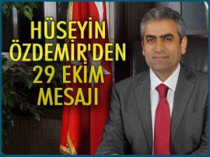 Özdemir'den bayram mesajı