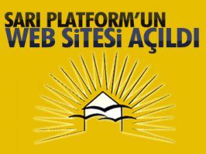 Sarı Platform'un sitesi açıldı