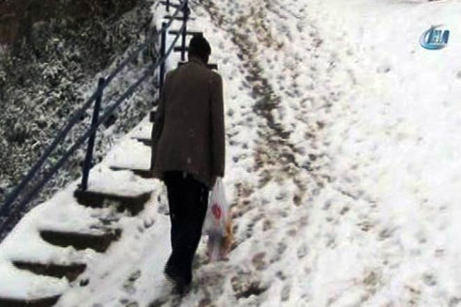 Sarıdağ'ın merdiven isyanı