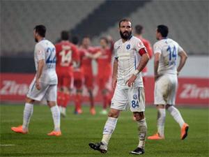 Sarıyer kupada Beşiktaş'a yenildi