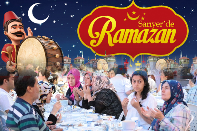 Sarıyer mahalle mahalle iftar programı 2015