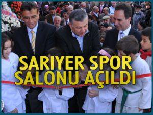 Sarıyer Spor Salonu açıldı