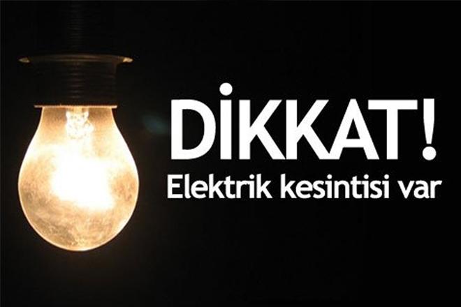 Sarıyer'de 9 saatlik elektrik kesintisi