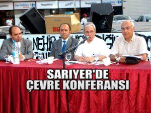 Sarıyer'de çevre konferansı