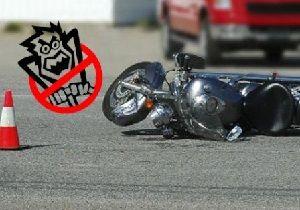 Sarıyerde motosiklet kazası: 1 ölü
