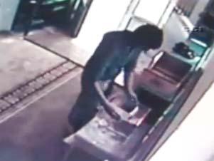 Sarıyerde PES dedirten hırsızlık - VİDEO