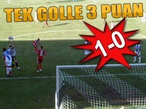 Sarıyer'den tek golle 3 puan
