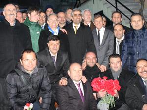 Sedat Özsoy pazar gününü FSMye ayırdı