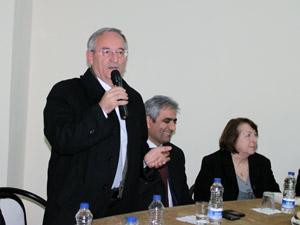 Sedat Özsoy, Yeni Uyum Sitesi sakinlerine söz verdi