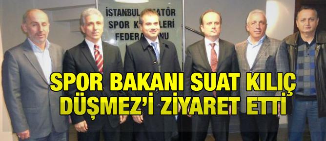 Spor Bakanı, Düşmez'i ziyaret etti